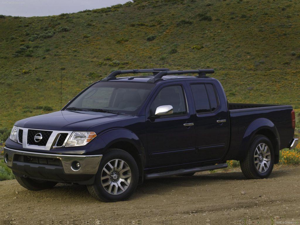 2009 Nissan Frontier in blue