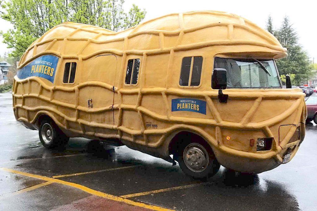 A Planters Peanut Nutmobile