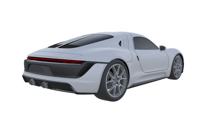 Porsche Gullwing Patent images