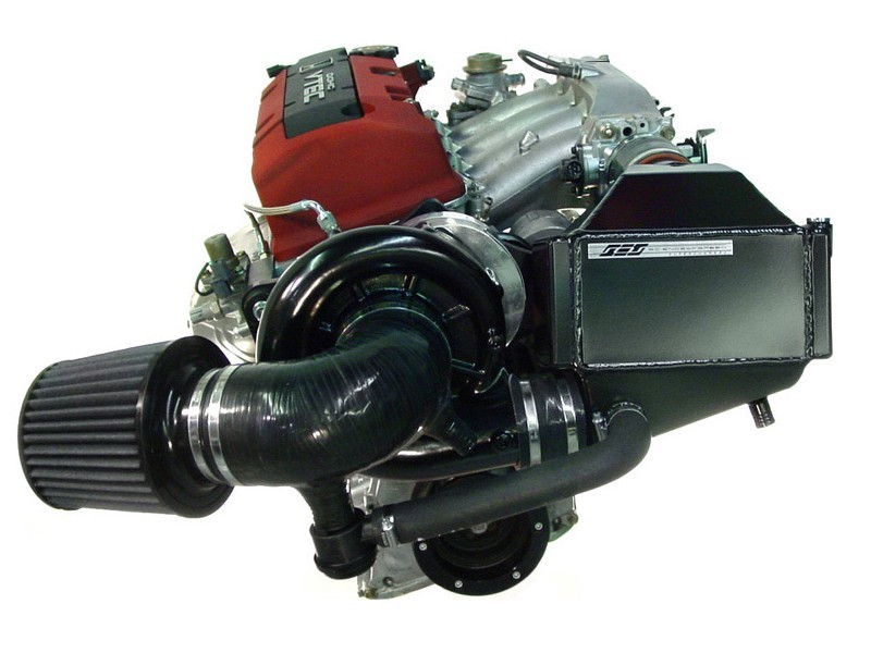 The Science of Speed supercharger on an S2000 engine