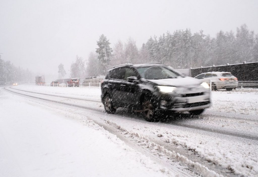 Traction control can be especially helpful when driving in slippery conditions.