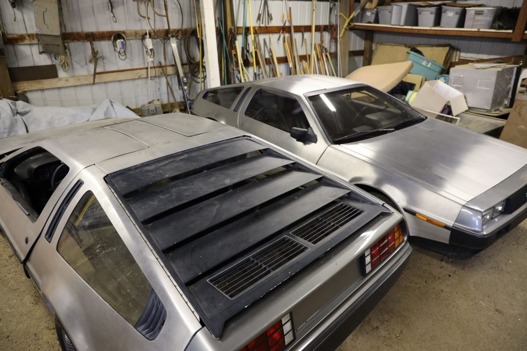 Two new Delorean coupes for sale