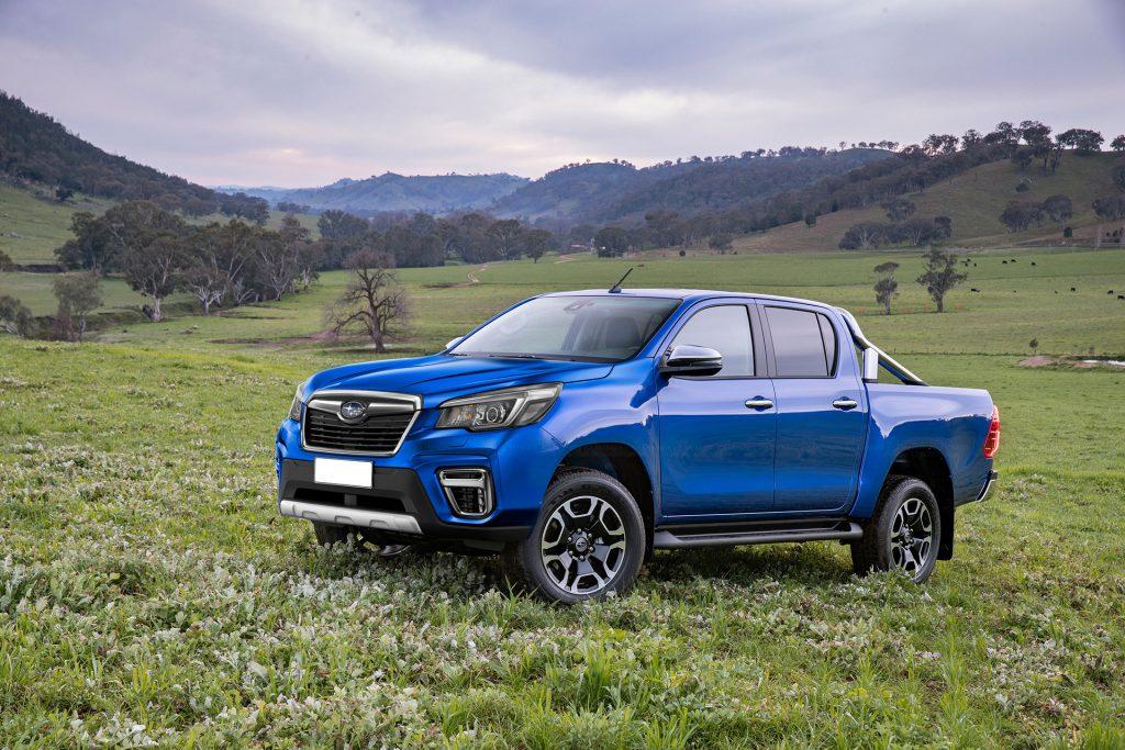 Subaru Brat Rendering