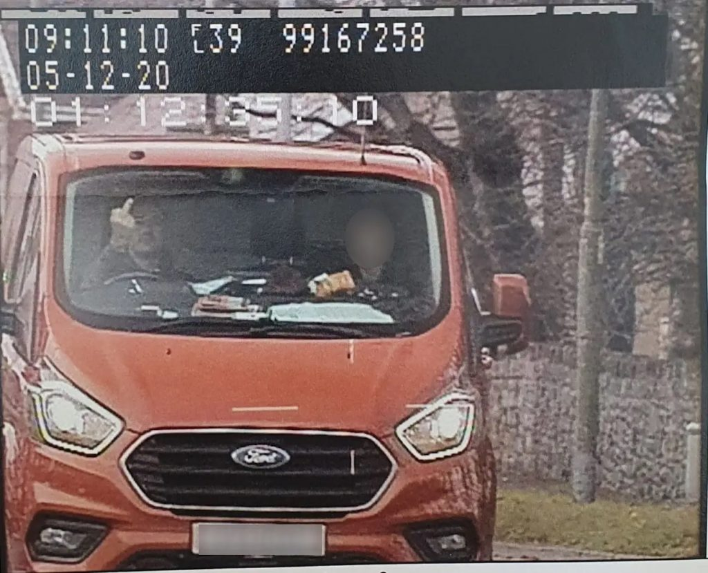 English man gets caught flipping off speed camera while being under the speed limit