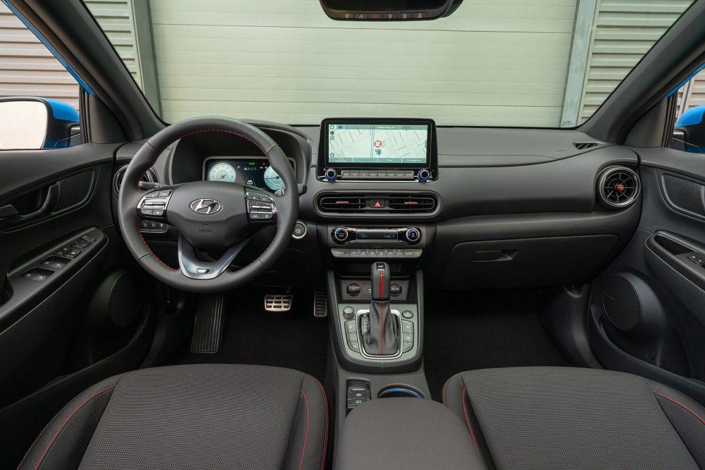 2022 Hyundai Kona N line interior