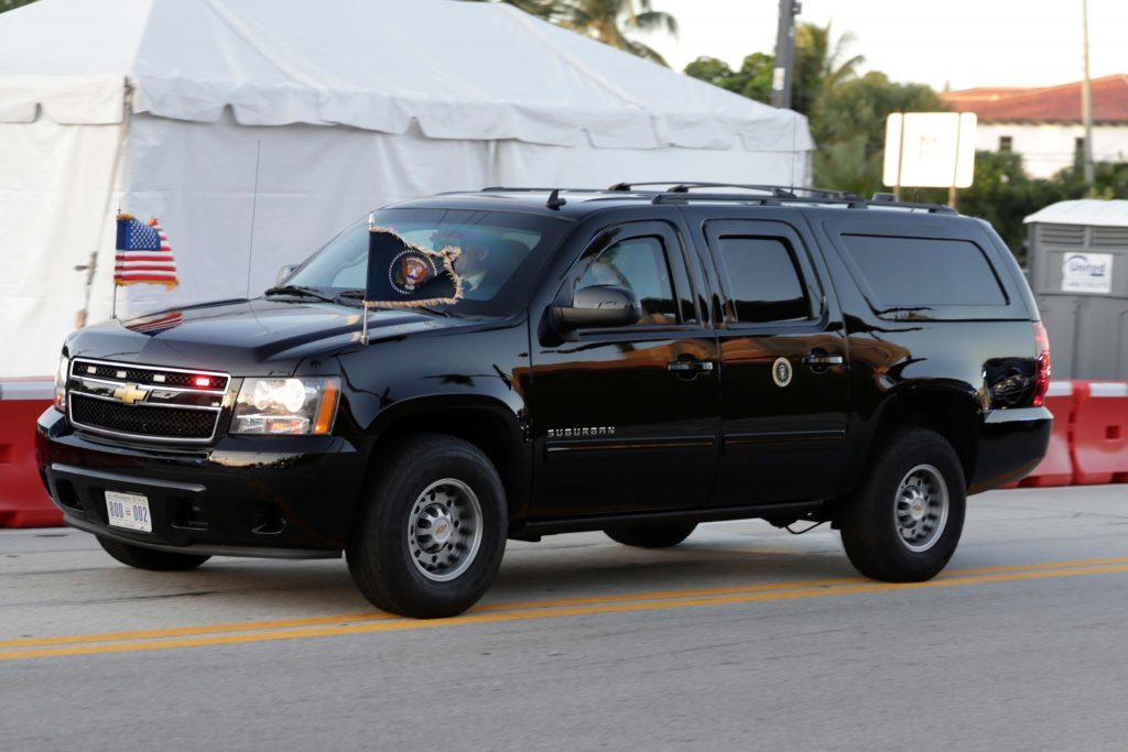 Presidential Motorcade Secret Service Chevy Suburban