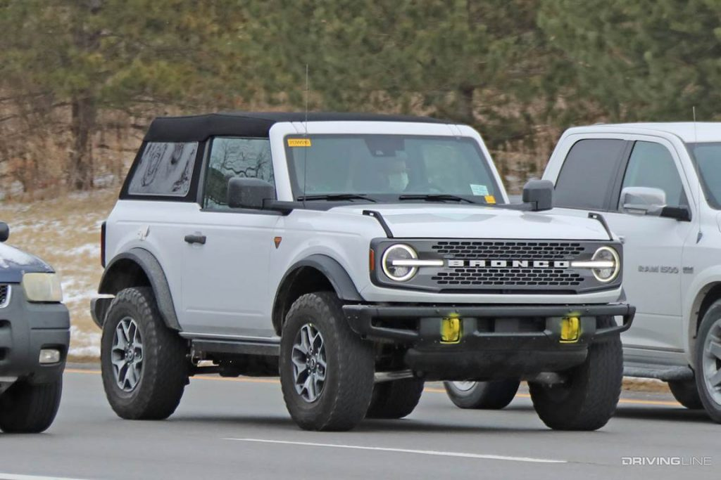 Pre-production Ford Bronco Soft Top Fastback