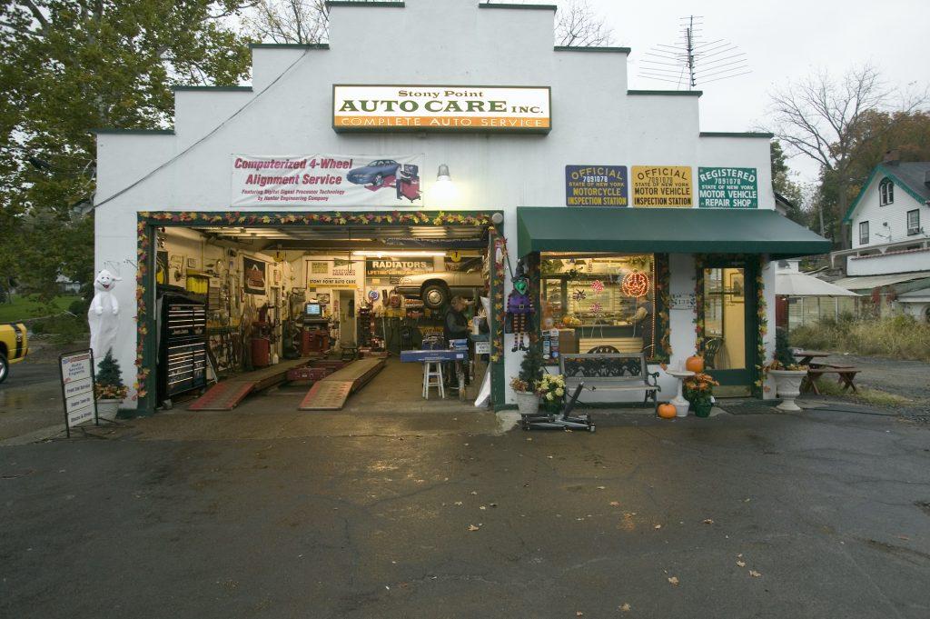 A small auto shop