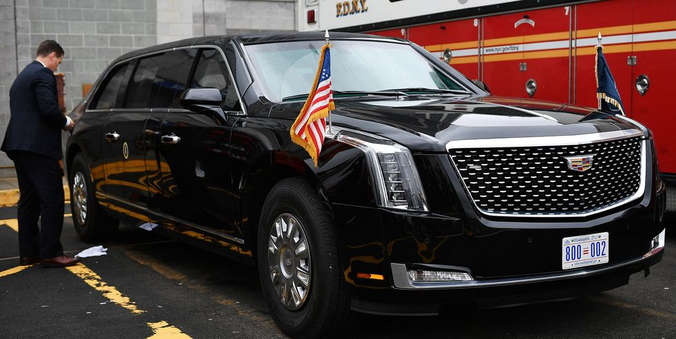 """The Beast"" Presidential Cadillac"