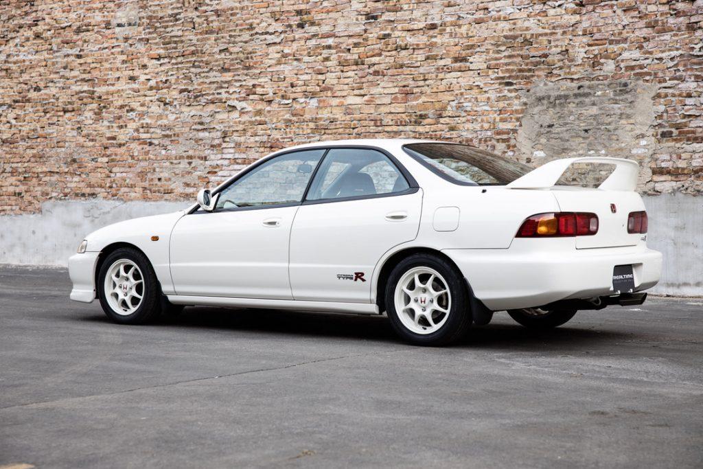 A rear shot of the 1995 Honda Integra Type R sedan (DB8)