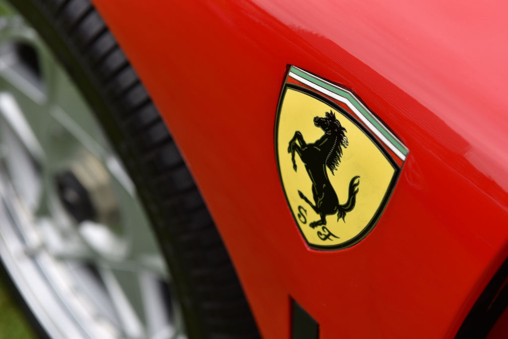 1996 Ferrari F50 prancing horse