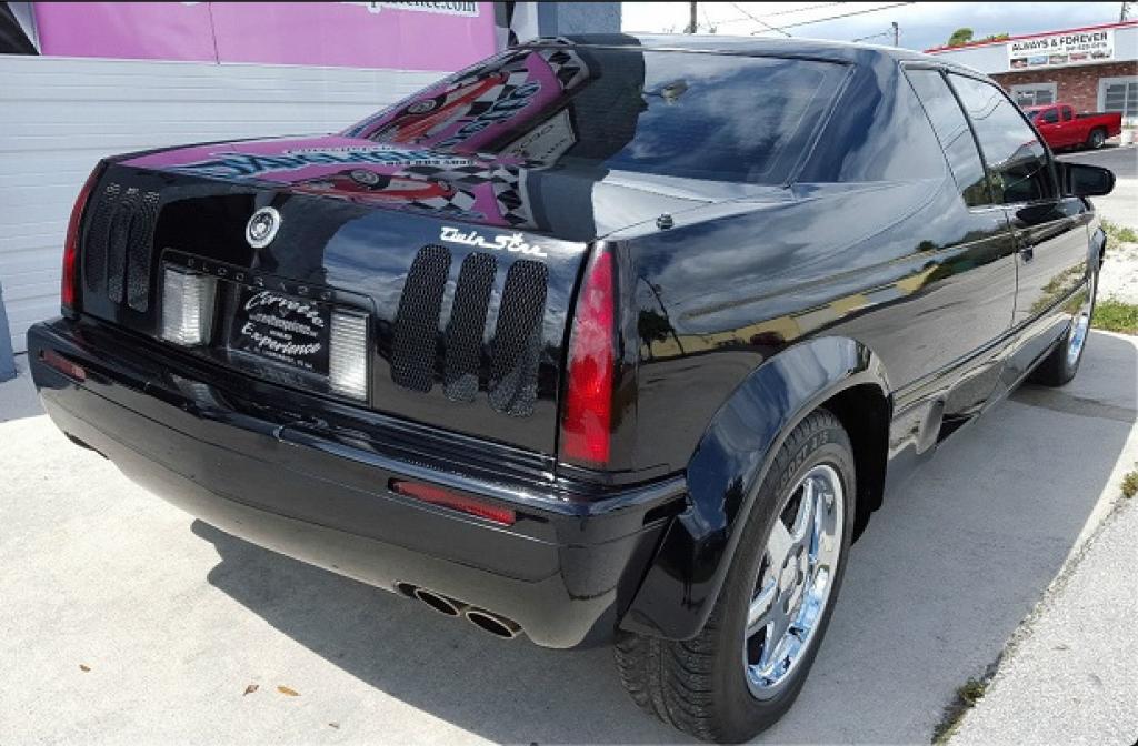 2000 Mosler TwinStar Eldorado rear 3/4 view