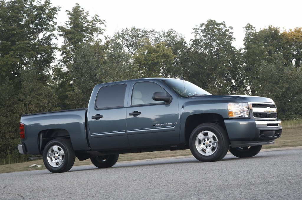 2009 Chevy Silverado parked