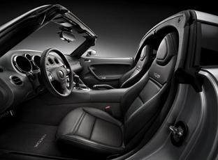 2009 Pontiac Solstice coupe interior
