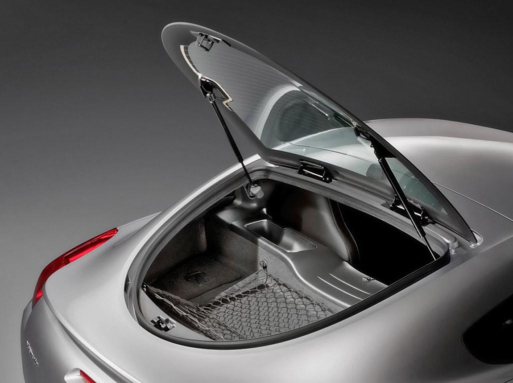 2009 Pontiac Solstice coupe hatch open