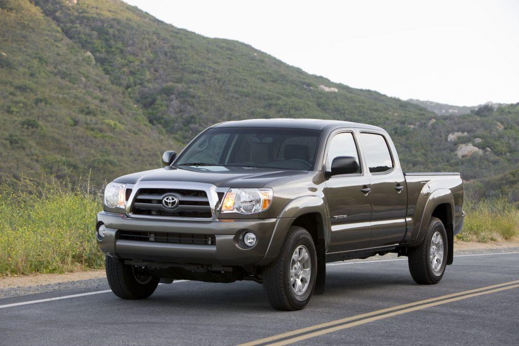 2009 Toyota Tacoma driving