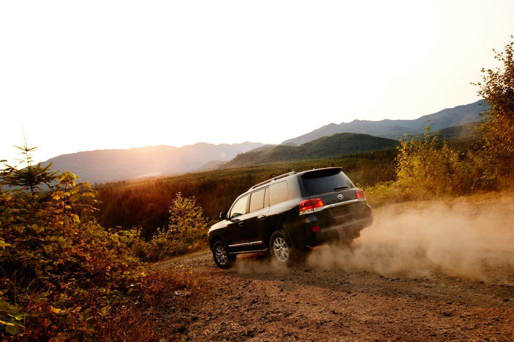 2018 Toyota Land Cruiser off-roading