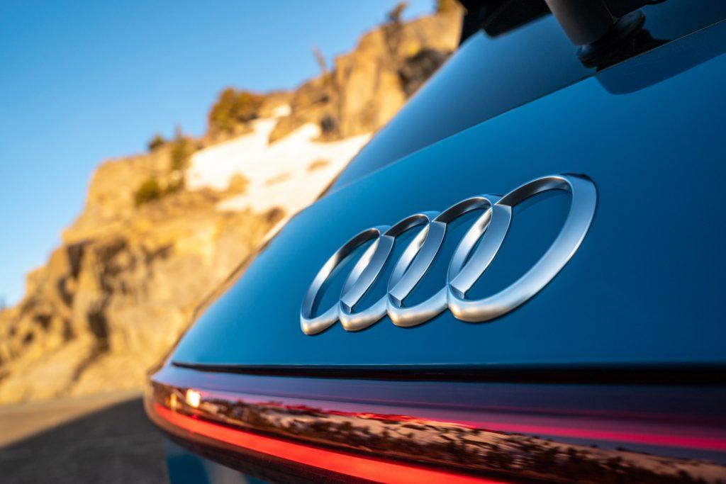 2019 Audi Etron rear badge
