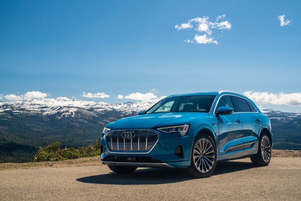 2019 Audi Etron front shot