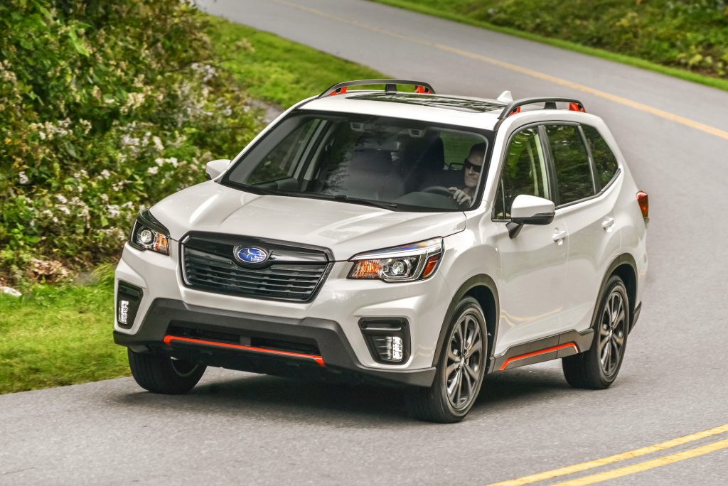 The 2019 Subaru Forester was the first to offer the automaker's DriverFocus safety feature