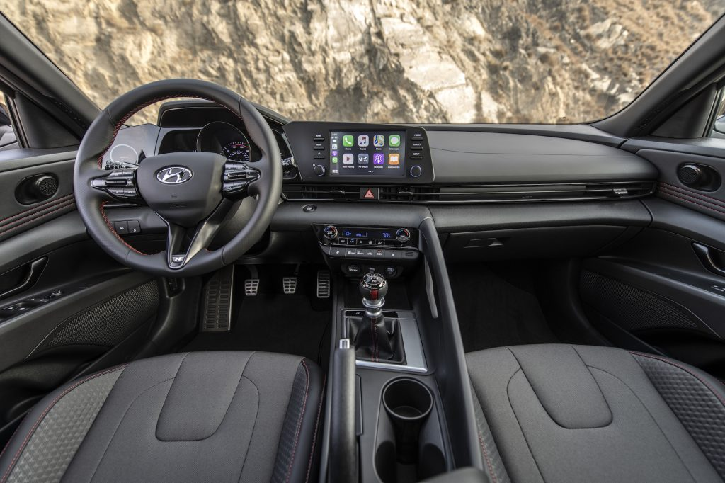 2021 Hyundai Elantra N Line Interior