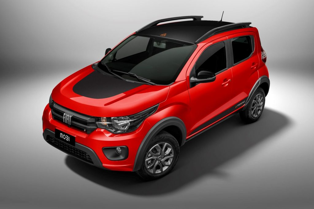 2021 Fiat Mobi released in Mexico