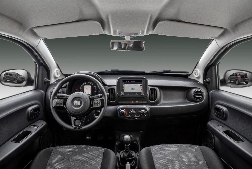 2021 Fiat Mobi interior