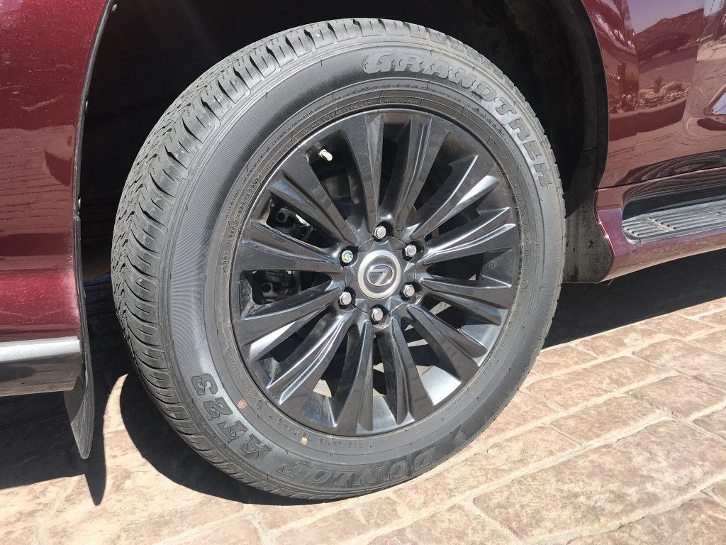 2021 Lexus GX 460 wheel shot