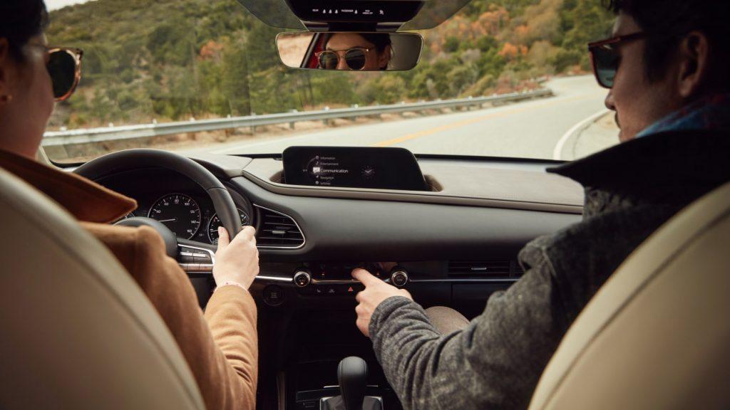2021 Mazda CX-30 Interior, dash view