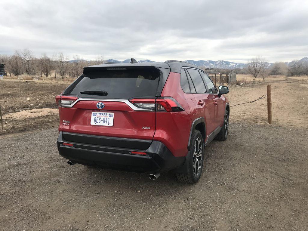 2021 Toyota RAV4 Prime | Joe Santos/MotorBiscuit