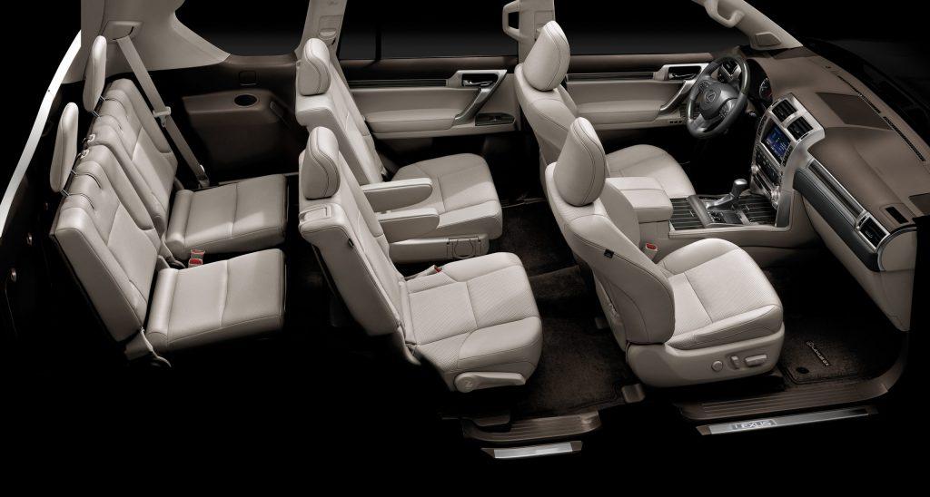 an overall shot of the 2021 Lexus GX 460 Interior