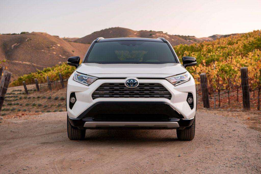 2021 Toyota RAV4 Hybrid front shot