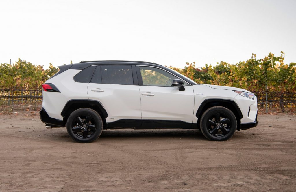 2021 Toyota RAV4 Hybrid side shot