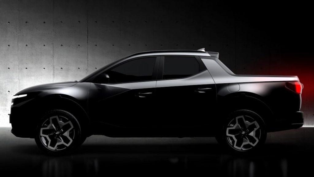 2022 Hyundai Santa Cruz teaser