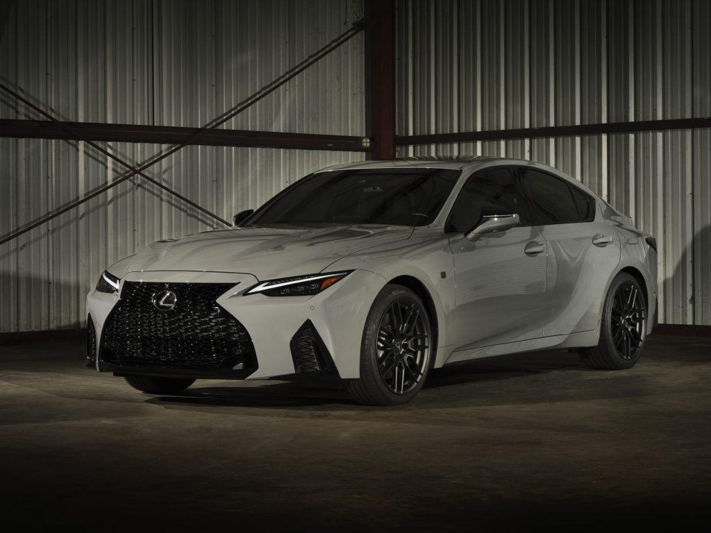 2022 Lexus IS 500 F sedan