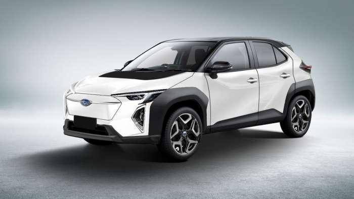 Subaru EV Rendering