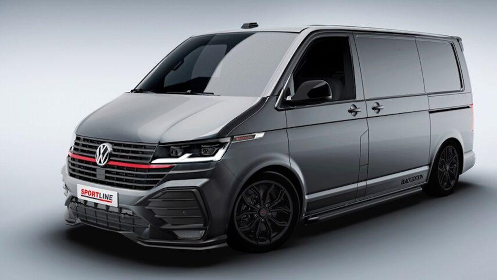 2022 Volkswagen Transporter T6.1 Sportline Black Edition