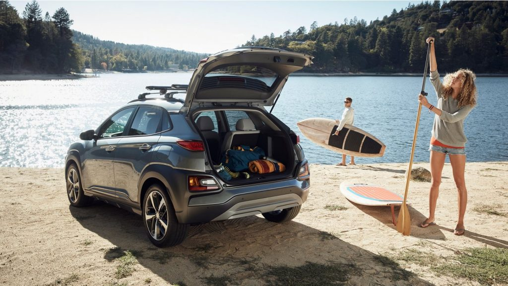a day of adventure in a 2021 hyundai kona