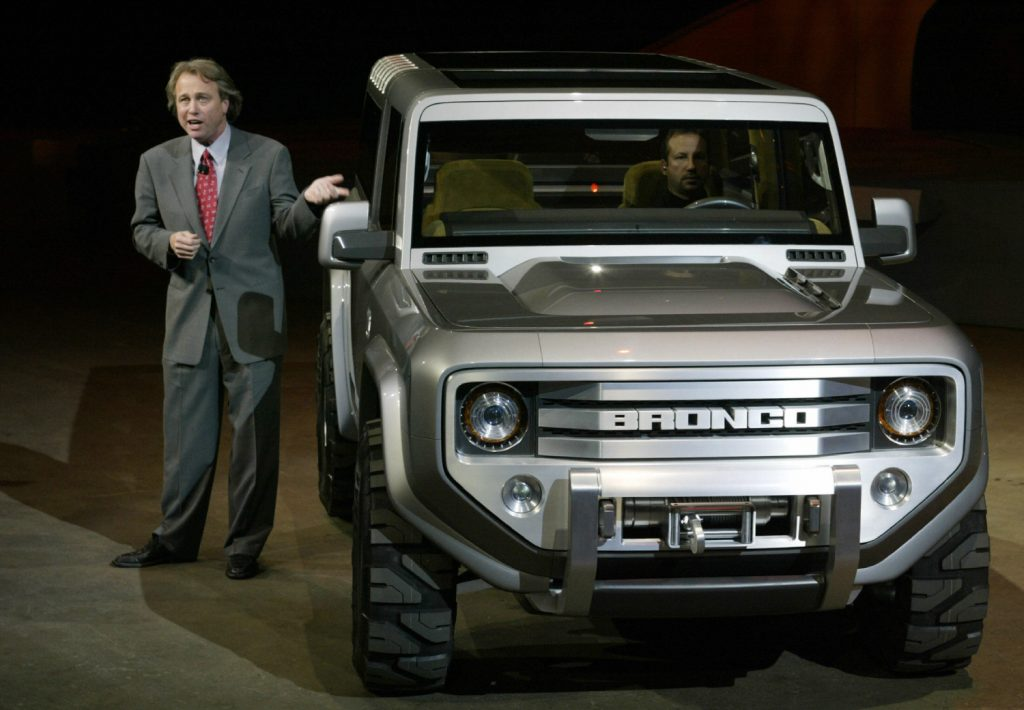 A Ford Bronco sold for an astonishing amount for charity