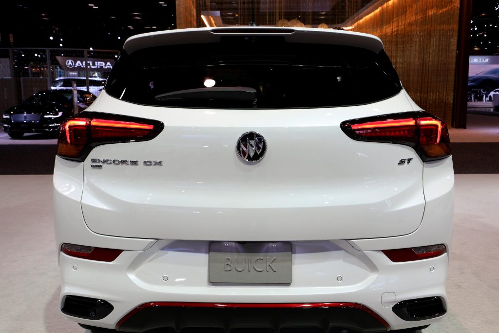 2020 Buick Encore GX is on display at the 112th Annual Chicago Auto Show