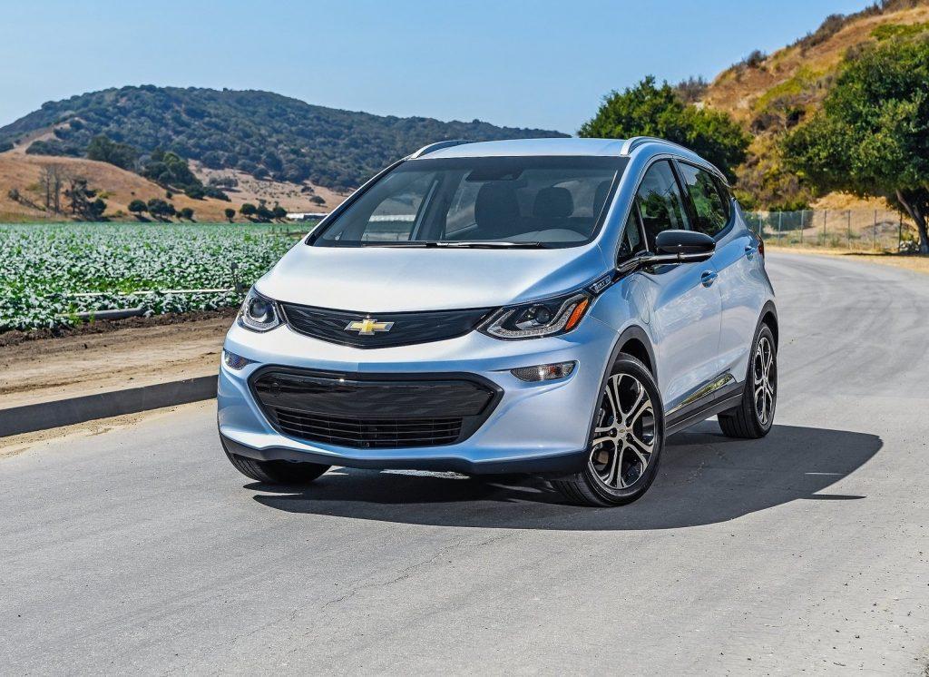 2017 Chevrolet Bolt front