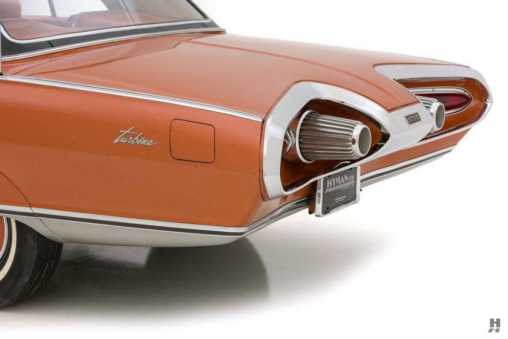 Chrysler Turbine Car rear detail