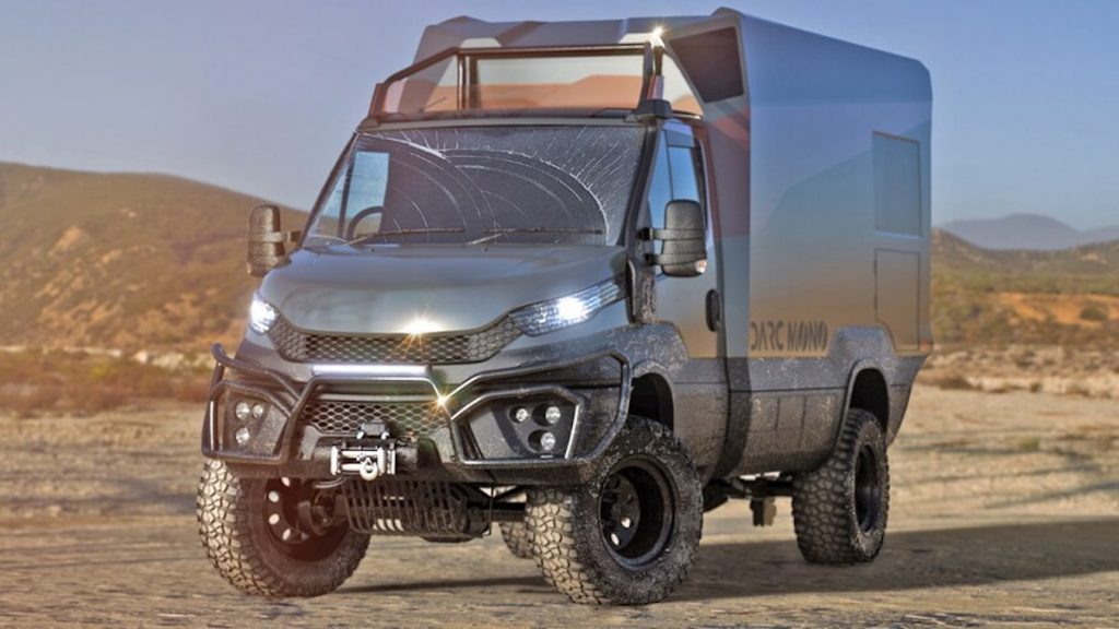 the Darc Mono is an overlanding camper that was built for anything