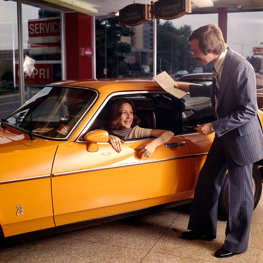 Dealership Service Department in the 1970s