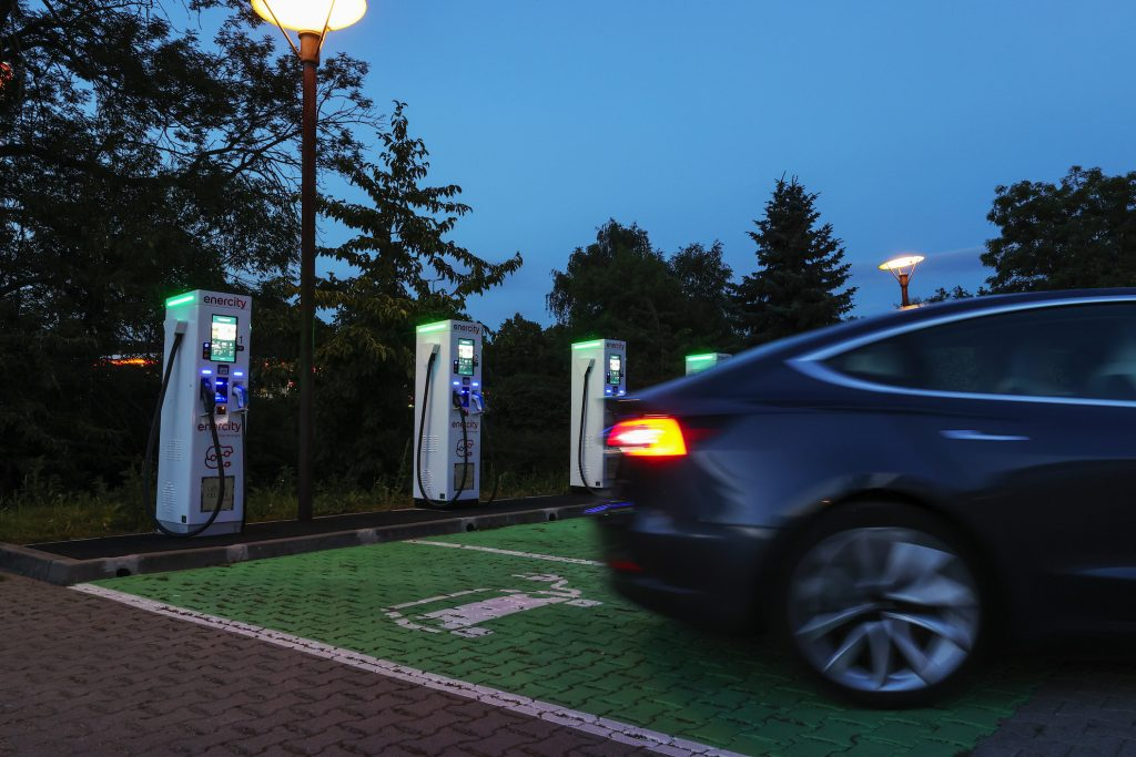 Enercity AG Electric Vehicle Charge Site as Germany Boost Green Energy Infrastructure
