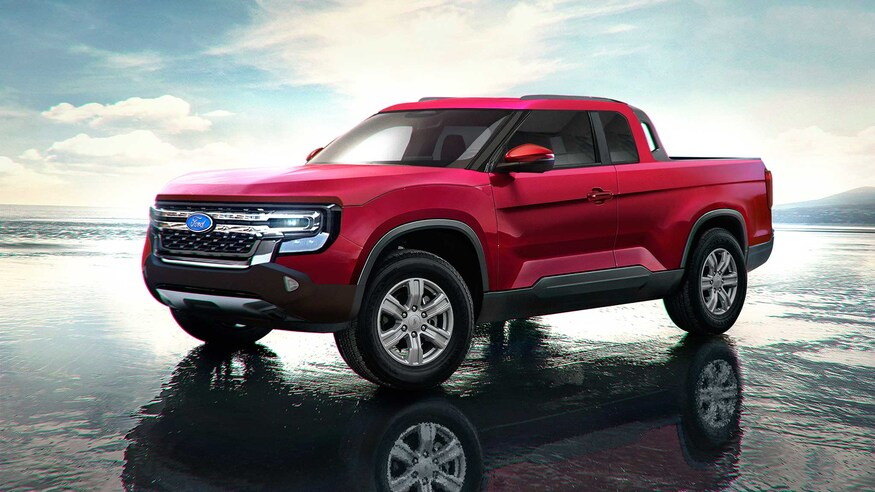 2022 Ford Maverick Rendering