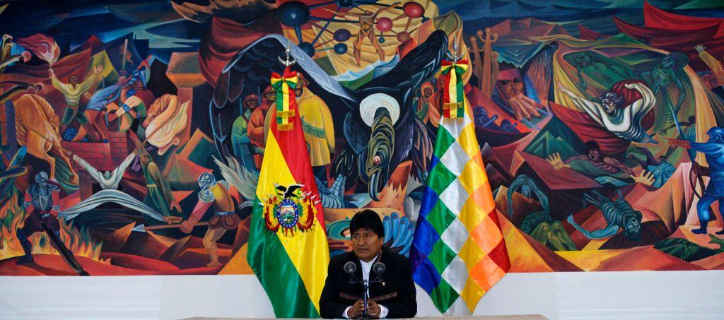 Evo Morales former Bolivian President