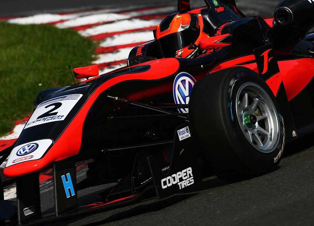 British Formula 3 Racer sponsored by Cooper Tires