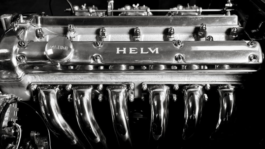 Helm XKE straight-six engine