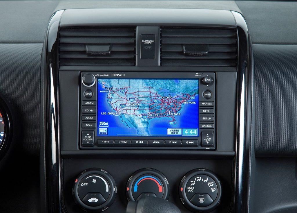 2010 Honda Element Navigation System